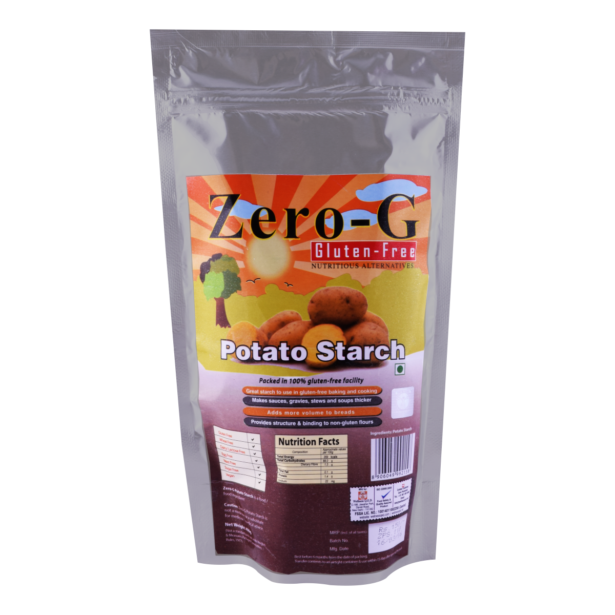 Zero-G Potato Starch