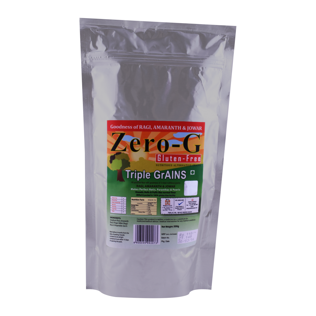 Zero-G Triple GrAINS