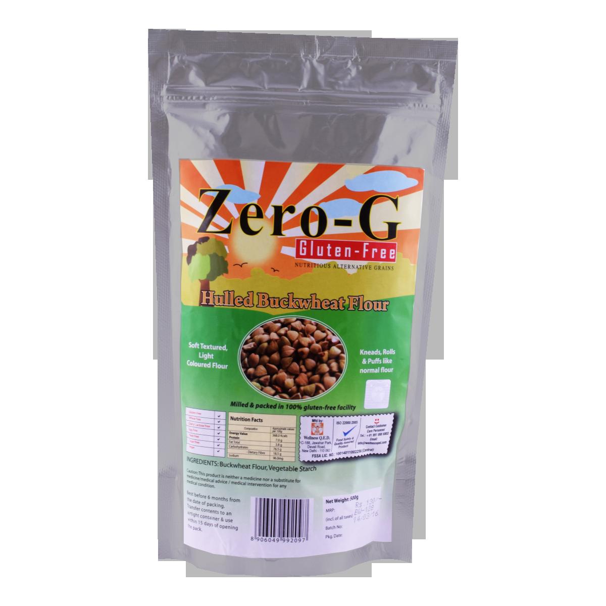 Zero-G Hulled Buckwheat Flour